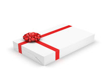White gift box Royalty Free Stock Images