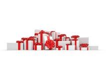 White gift box Royalty Free Stock Photo