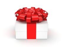 White gift box Stock Photography