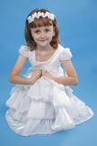 White girl Princess. Stock Images