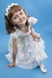 White girl Princess. Royalty Free Stock Image