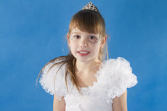 White girl Princess. Stock Photos