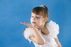 White girl Princess. Stock Image