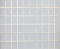 White glass block wall Stock Photo
