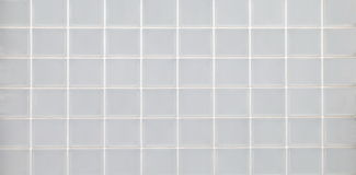 White glass block wall seamless background Stock Images