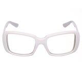 White glasses Stock Photo