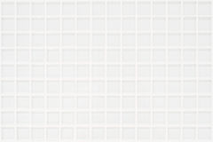 White glassy tile with squares Stock Image