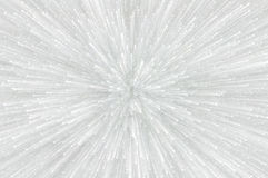 White glitter explosion lights abstract background Royalty Free Stock Photo