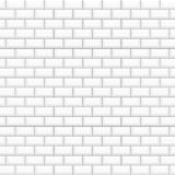 White glossy ceramic tiles royalty free illustration