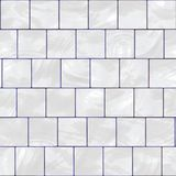 White glossy tile Royalty Free Stock Photo