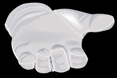 White glove Royalty Free Stock Photography