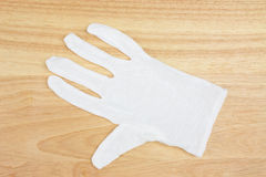 White gloves Royalty Free Stock Photography