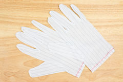 White gloves Stock Photos