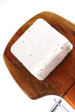 White goat cheese Stock Images