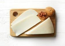 White goat cheese Royalty Free Stock Photos