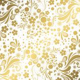 White and Gold background Royalty Free Stock Photos