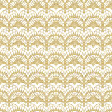 White and gold lace seamless stripes pattern. Royalty Free Stock Photography
