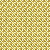 White on gold line and polka dots in lines seamless repeat pattern background. Two colour line and polka dots in lines seamless repeat pattern background. Could Stock Images