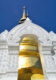 White and gold Pagoda Stock Photos