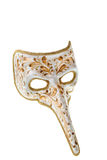 White and gold venetian  mask Stock Photography