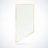White Golden Marker Stock Photo