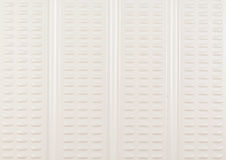 White grained plastic surface Royalty Free Stock Images