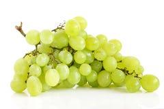 White grape cluste Royalty Free Stock Photo