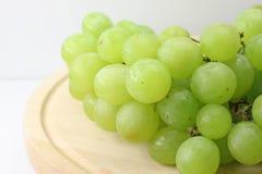 White grape cluster Royalty Free Stock Photos
