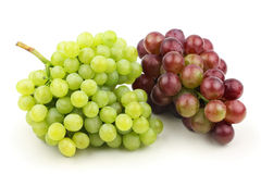 White grape and red grape Stock Photography