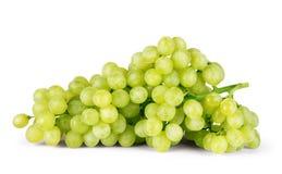 White grape on white background Stock Photo