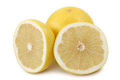 White grapefruits Stock Photos