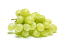 White grapes with drops of water Stock Photo