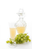 White grapes juice Stock Image