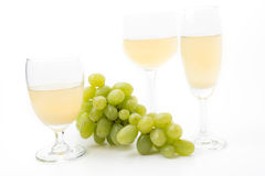 White grapes juice Royalty Free Stock Photography