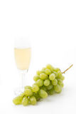 White grapes juice Royalty Free Stock Images