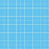 White graph grid on cyan paper seamless pattern Royalty Free Stock Images