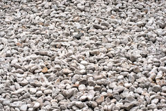 White gravel background Royalty Free Stock Images