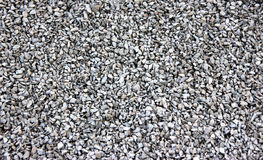 White gravel stones Royalty Free Stock Image