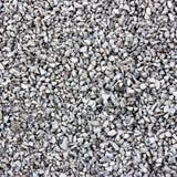 White gravel stones Royalty Free Stock Image