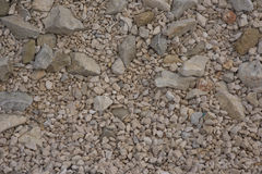 White gravel texture background pattern. Royalty Free Stock Images