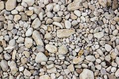 White gravel texture Stock Image