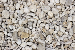 White gravel texture Royalty Free Stock Images