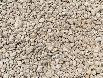 White gravel texture stock photography