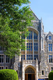 White-Gravenor Hall of Georgetown University, Washington DC, USA. Stock Photography
