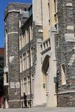 White-Gravenor Hall of Georgetown University, Washington DC, USA. Royalty Free Stock Photography