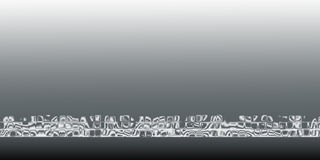White-gray Abstract Background Royalty Free Stock Photos