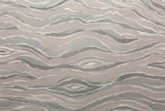 White and gray abstract wave pattern. Oil paint texture. White and gray abstract wave pattern. Oil paint texture royalty free stock photos