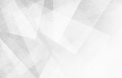 White and gray background with abstract triangle shapes and angles Royalty Free Stock Photos