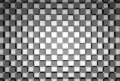 White gray black matrix. Made by glass royalty free stock photo