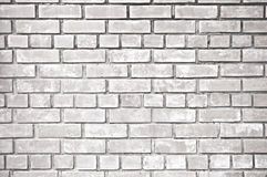 White gray brick wall texture Royalty Free Stock Photo